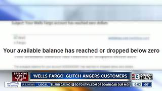 Wells Fargo auto-pay error leaves some customers with overdrafted accounts - Video