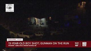PD: 13-year-old shot near 83rd Avenue and Indian School Road
