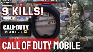 9 Kills! Call of Duty Mobile - Let's Play Episode 1
