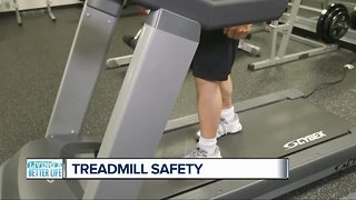 Living a Better Life: Treadmill safety - Video