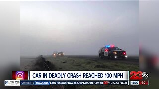Car in deadly I-5 crash reached 100 mph