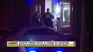 10-year-old girl shot in the head during drive-by shooting in Inkster