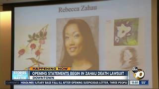 Rebecca Zahau death lawsuit trial starts - Video