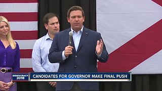 Candidates for governor make final push