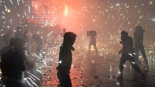 Mexico's Insanely Dangerous Festival of Fireworks - Video