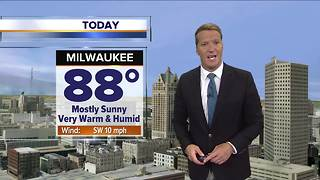 Summer is here: Very warm temperatures Friday - Video