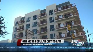 Tucson ranked in top 10 for most popular cities - Video