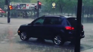 Flash Flooding Hits Montreal - Video