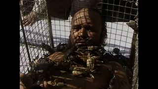 Bizarre 'Crab Man' - Video
