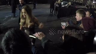 Rita Ora among stars at London Fashion Awards - Video