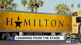 Valley high school students get chance to perform on Hamilton stage - Video