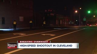 High-speed shoot out in Cleveland - Video