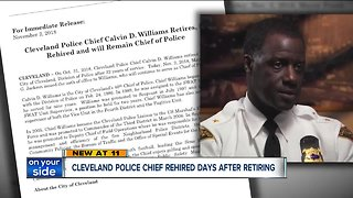 Cleveland Police Chief Calvin Williams retires, is rehired 2 days later