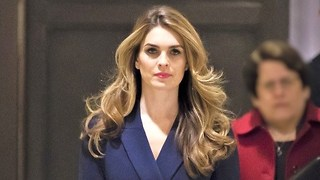 Hope Hicks praised by White House after resignation - Video