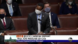 Rep. Joe Neguse says he will support second impeachment