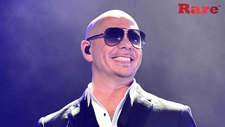 Pitbull Uses Private Plane To Help Cancer Patients In Puerto Rico | Rare People - Video