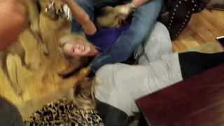 Family's Game Night Gets Wildly Out of Hand - Video