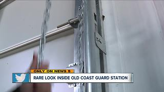 Look inside historic Coast Guard Station - Video