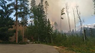 Buffalo Fire in Colorado county scorches 100 acres of land - Video