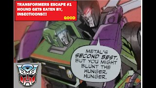 TRANSFORMERS ESCAPE #1 REVIEW
