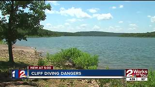 Troopers warn about cliff diving dangers - Video