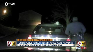 Chief: Police pursuit never should have happened WCPO Investigative Report - Video