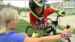 World BMX biking champion is Omaha 6-year-old - Video