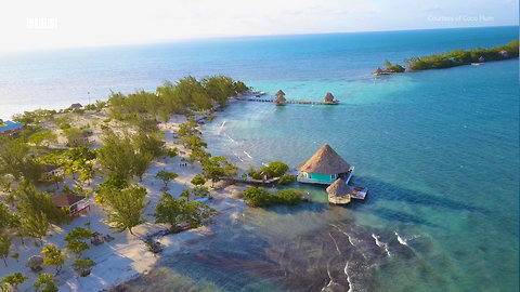 Get Unlimited Drinks at This Private Island Resort