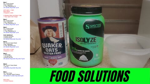 Food Solutions: Muscle Oats