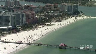 Are Tampa Bay area beaches opened or closed for Fourth of July weekend?
