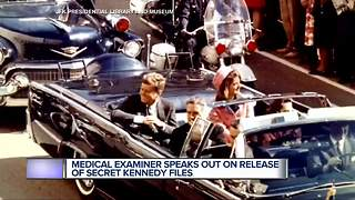 Metro Detroit pathologist reflects on JFK's assassination as records are released - Video