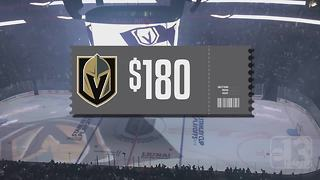 UPDATE: Golden Knights ticket prices increase for Game 2 - Video