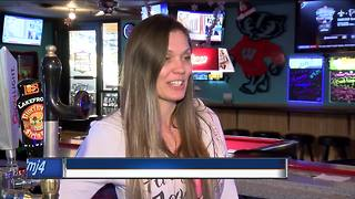 Badgers fans wear red to support team - Video