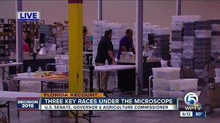 Day 2 of recount in Palm Beach County - Video