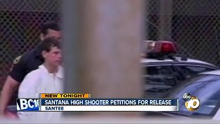 Santana High shooter petitions for release - Video
