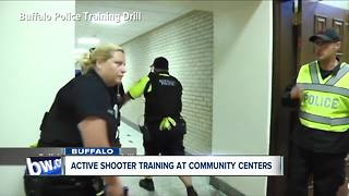 Buffalo to hold active shooter training for community centers, pools and ice rinks - Video