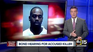 Phoenix man accused of killing spree to stay behind bars - Video