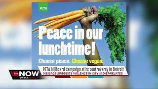 Peta billboard campaign stirs controversy in Detroit - Video