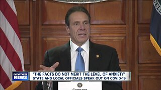 State and local officials speak out on COVID-19