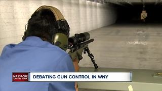 Debating gun control in WNY - Video