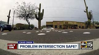 Cave Creek community wants dangerous intersection solution - Video
