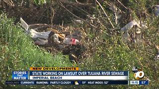 State lawmakers working on lawsuit over Tijuana River sewage - Video