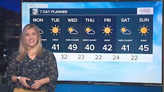 Today's Forecast: Breezy with colder temperatures and a minor chance of light snow