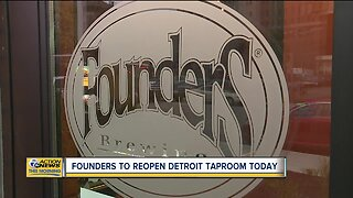 Founders to reopen Detroit Taproom today