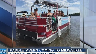 'PaddleTavern' service coming to Milwaukee River this spring - Video