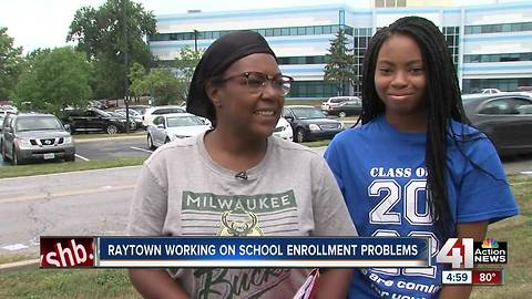 Some Raytown students unable to attend school due to registration issues