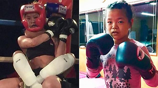 12-Year-Old Kid CHOKES OUT 24-Year-Old Opponent in MMA Debut - Video