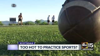 Saguaro high school athletes sick after outdoor practice