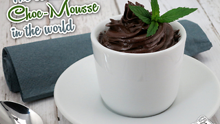Easiest chocolate mousse recipe in the world - Video