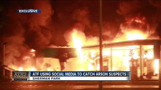 ATF looking for Sherman Park arson suspects one year later - Video